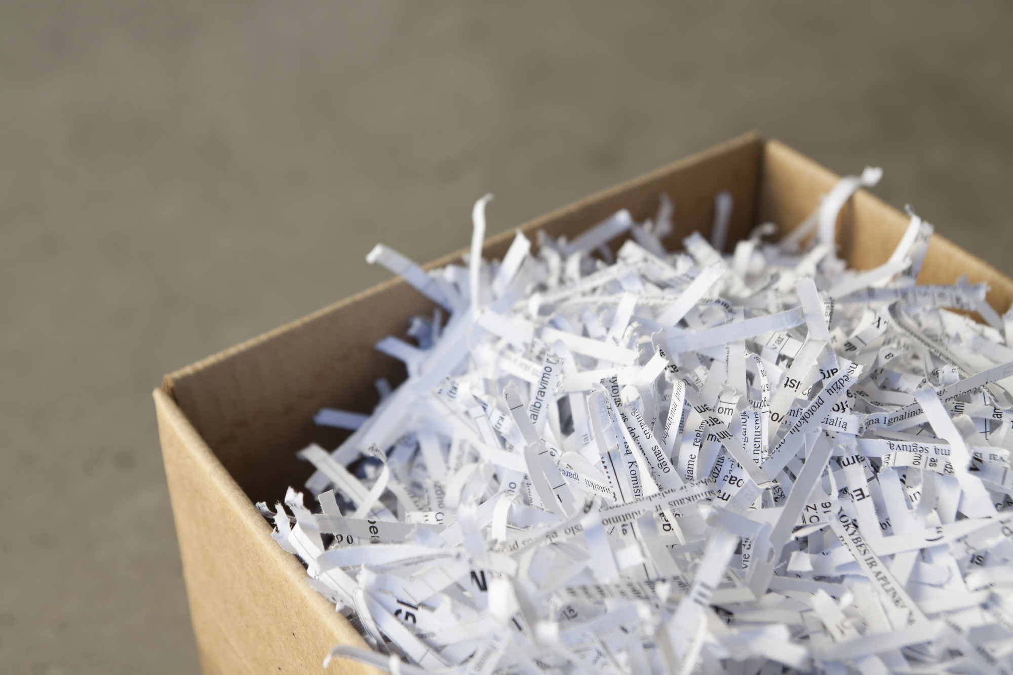 RESIDENTIAL SHREDDING NH