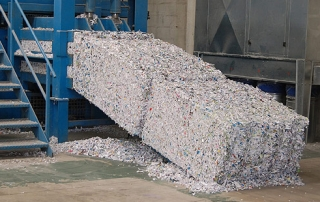 off-site-shredding-plant